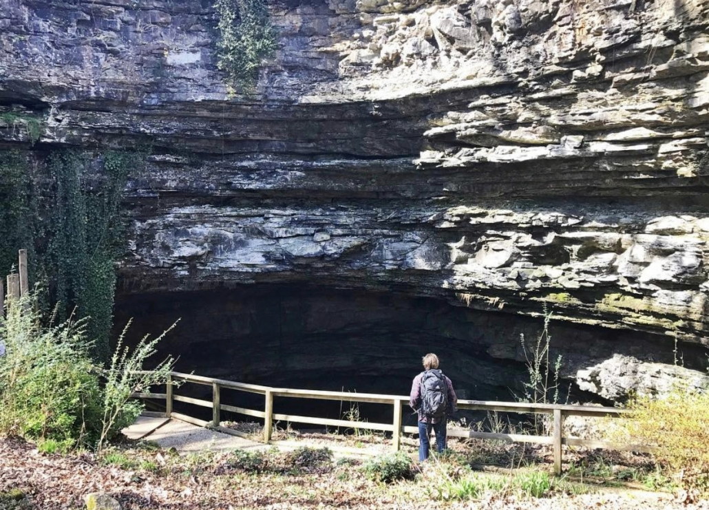 Kentucky outdoor adventure can be found at Hidden River Cave.