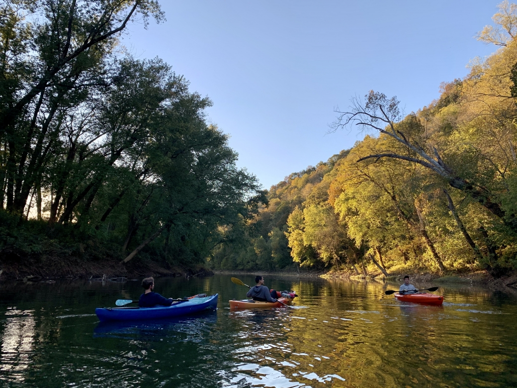 Green River paddling in the fall. Photo by McKenna Vierstra.